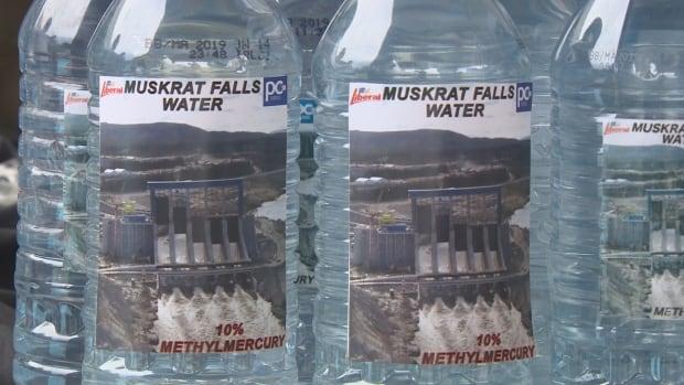 Muskrat Falls bottle water campaign