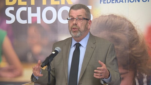 Sam Hammond, president of the Elementary Teachers' Federation of Ontario, says violence in public schools against teachers is a growing problem.