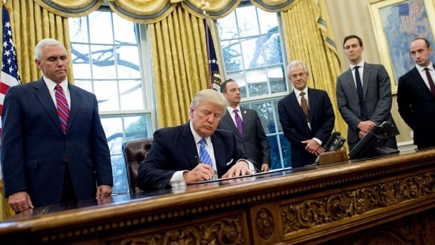 U.S. President Donald Trump signed an executive order on January 23, 2017, blocking U.S. funding to foreign organizations that perform or provide information about abortions. The U.S. rejected a UN resolution Thursday that called for access to safe abortions all women.