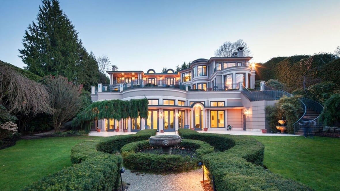 Billionaire Joe Segal S 63m Vancouver Mansion Up For Sale British Columbia Cbc News