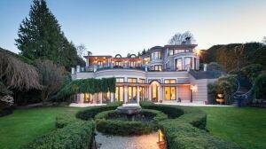 Billionaire Joe Segal's $63M Vancouver mansion up for sale
