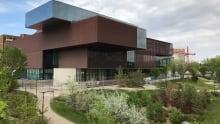 Remai Modern Art Gallery under construction in Saskatoon late May 2017