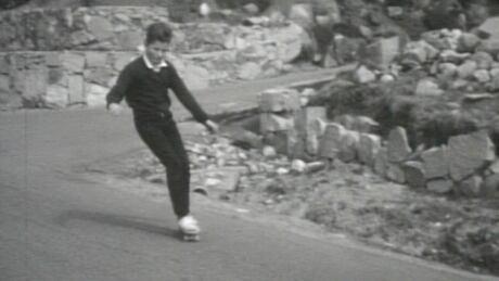 retro skateboarding