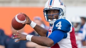 Durant's 2 TDs lead Als over Riders in dramatic CFL opener
