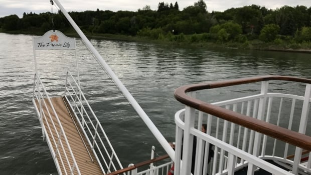 The Prairie Lily River cruise boat in Saskatoon