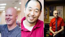 Jared Nicholls, Koji Steven Sakai and Evan Munday