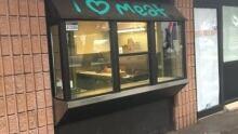 vegan vandalism