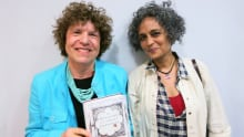 Eleanor Wachtel and Arundhati Roy