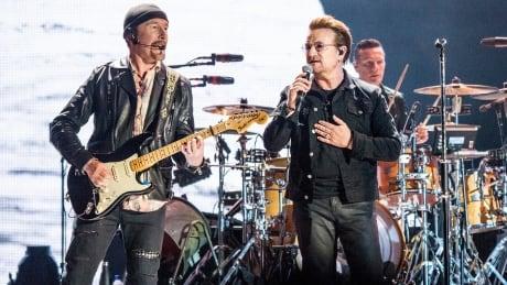 U2 Bono The Edge