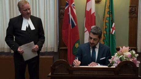 Ross Romano sworn in
