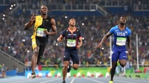 Justin Gatlin wants to be part of history with Usain Bolt in London