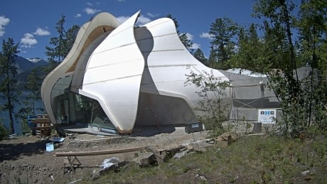 'A lotus opening': B.C. ashram welcomes new temple after devastating fire