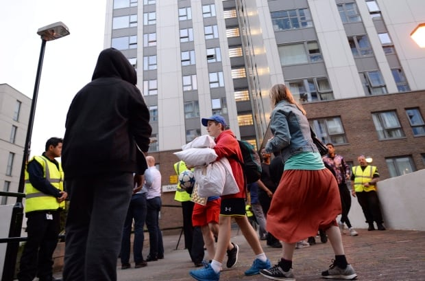 Britain London Fire