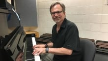 Marcel Hamel from the MacEwan University music department