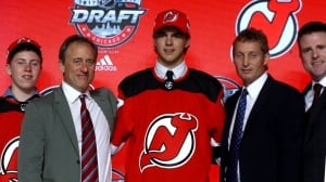 New Jersey Devils select Nico Hischier 1st overall