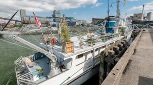 Ex Navy minesweeper turned swanky Vancouver waterfront residence listed for $299K