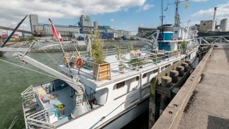 ex minesweeper turned yacht for sale