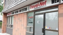 Travel-Net Communications' office at 850 Industrial Ave. in east Ottawa June 23, 2017