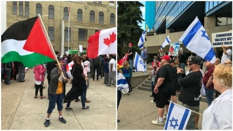 Day of al-Quds rally Calgary