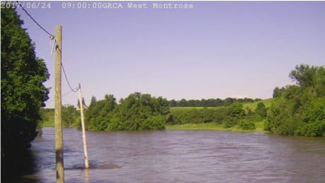 west montrose rivercam Saturday