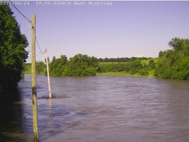 west montrose rivercam Saturday