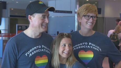 Toronto police NYC pride