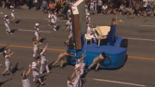 parade float racist