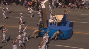 Video of Quebec history float goes viral amid allegations of racism