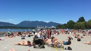 Vancouverites enjoy first heat wave of the summer