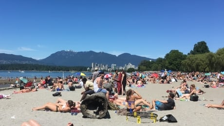 Kits Beach summer 2017
