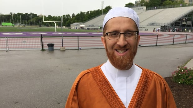 The Imam of the London Muslim Mosque Abd Alfatah Twakkal, now the director of outreach and engagement.