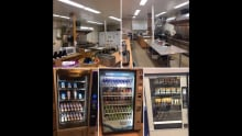 Fort Frances high school cafeteria