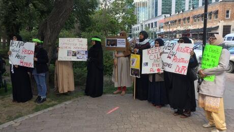 al-Quds rally in Regina