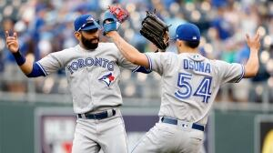 Osuna returns to help Blue Jays finish off Royals