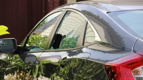 Surrey Shooting 86th Avenue car window