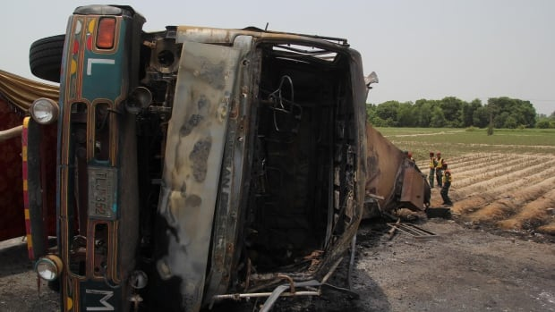 Toll from Pakistan tanker fire climbs to 148