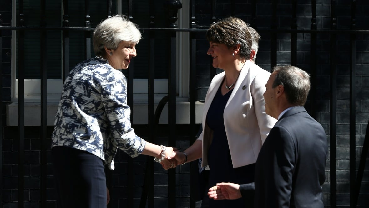 Theresa May reaches deal with DUP leader to prop up U.K. government