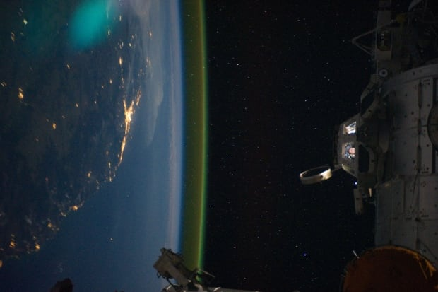 Airglow ISS Earth