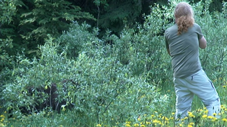 It scares me': Banff tourists seek up-close bear photos despite