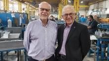 Rex Power co-owners Simon and Levon Hasserjian