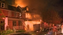 Booth avenue fire