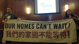 Activists disrupt Vancouver city council meeting to protest homelessness
