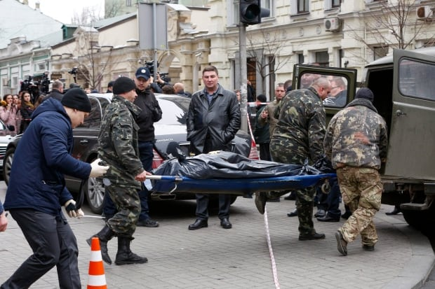 Ukraine Killing