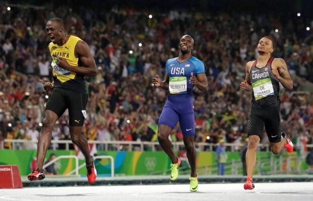 Italy Athletics De Grasse Bolt