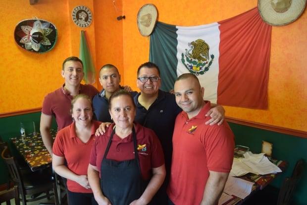 Team at La Bamba restaurant