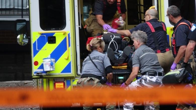 Montreal police fatally shoot screwdriver wielding man cbc news