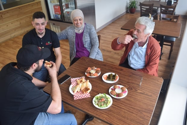 Jomha family at Lebanese Kitchen