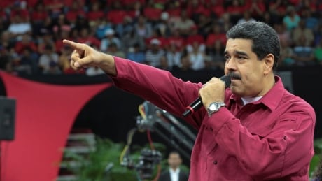 Embattled Venezuelan president says helicopter fired on country´s Supreme Court