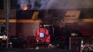 Fire at Langley used car dealership deemed suspicious