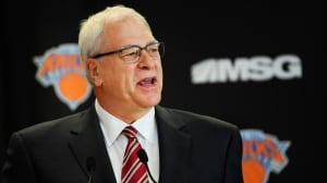 Knicks part ways with Phil Jackson, reportedly eyeing Raptors' Ujiri